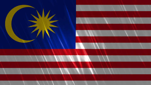 Malaysia Flag Loopable Background Animation