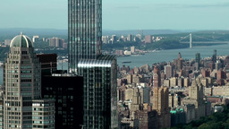 New York City 711 Park Hyatt hotel and upper west side with Hudson Footage