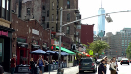 New York City 753 downtown 7th Avenue in Greenwich Village Footage