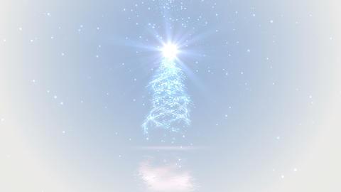 Christmas tree lights background loop Animation