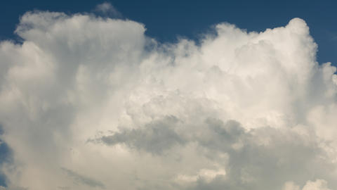 Thunder clouds rising, high qualitative 4k time lapse, no flicker Footage