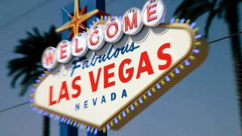 Las Vegas Sign - Daytime Right Side Crash Zoom Animation