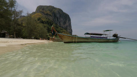 Tropical ISland in thailand Footage