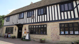 Oliver Cromwell's house Ely Cambridgeshire UK GIF