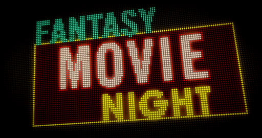 Fantasy Movie Night intro Animation