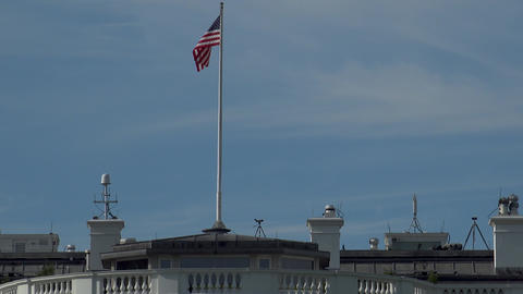 WASHINGTON, DC, USA: The Ellipse, the south of the White... Stock Video Footage
