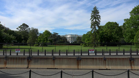 WASHINGTON, DC, USA: The Ellipse, the south of the White… Stock Video Footage