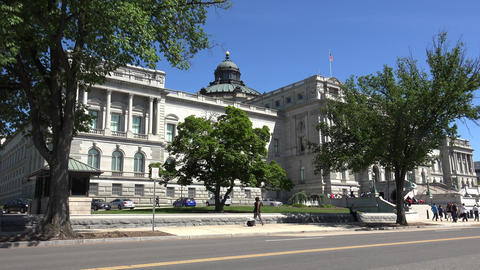 WASHINGTON, DC, USA: Library of Congress Building, the…, Live Action
