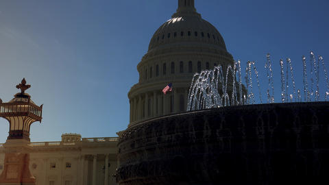 WASHINGTON, DC, USA, The U S Capitol,often called the Capitol Building Footage