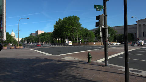 WASHINGTON DC, USA. The US Capitol Building at the... Stock Video Footage