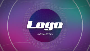 Gradients Logo Premiere Proテンプレート