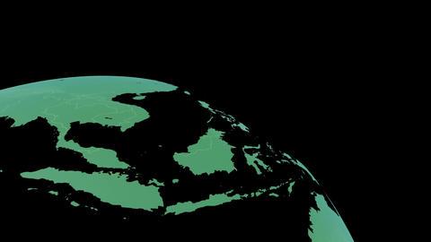 Earth CG 18 B3LB 4k Animation