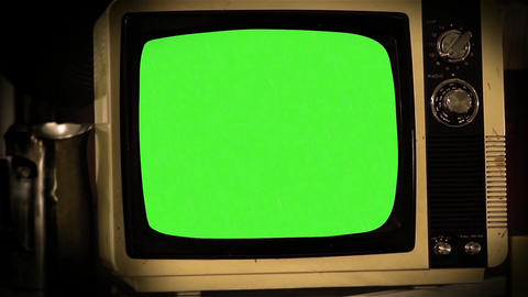 OLD GREEN SCREEN TV COLLECTION 0