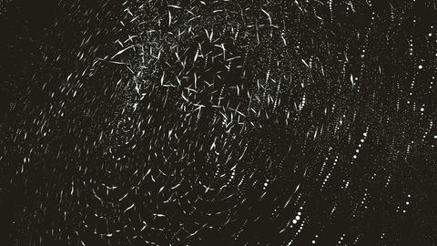 Abstract background made of particles having a slight movement Animation