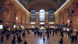 New york central station timelapse Footage