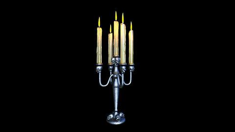 Horror Candle CG動画