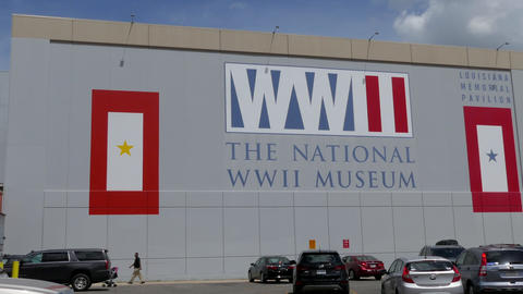 Exterior Of The National WWII Museum In New Orleans Louisiana 영상물