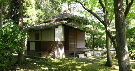 "Nagoya castle Tearoom ""oribe-dou"" Footage"