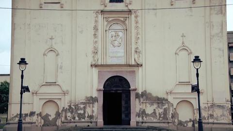 Orthodox church, Entrance Door Footage