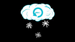 Cloud of snow and loading CG動画素材