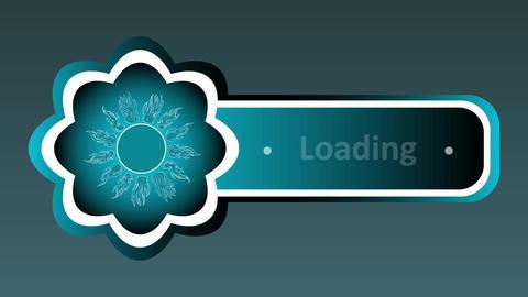 Icon sun loading CG動画素材