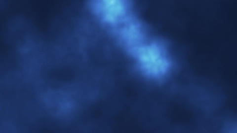 Blue Stage Smoke Fog Loopable Motion Graphic Background Animation