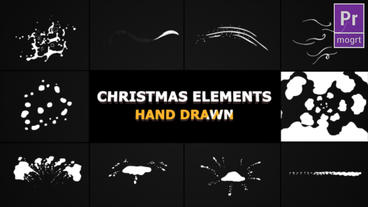 Christmas Elements Motion Graphics Template