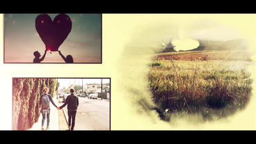 Romantic Slideshow 애프터 이펙트 템플릿