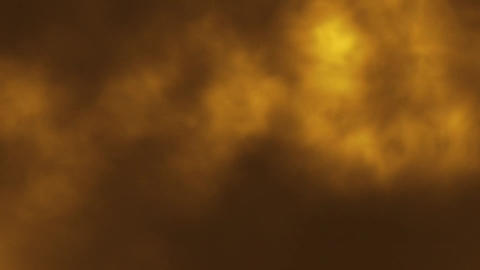 Orange Gold Stage Smoke Fog Loopable Motion Graphic Background Animation