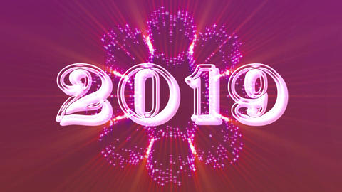 2019 with flare 2 Animation