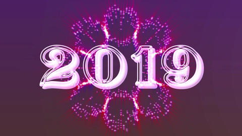 2019 with flare 3 Animation