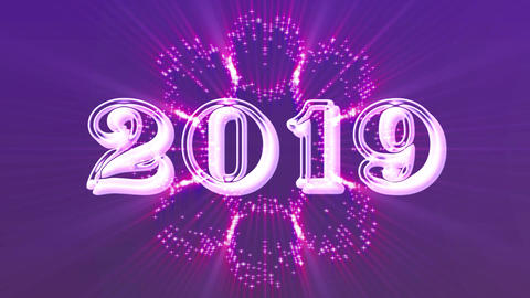 2019 with flare 5 Animation