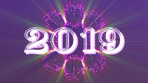 2019 with flare 8 Animation
