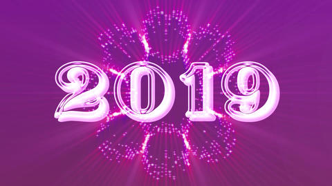 2019 with flare 6 Animation