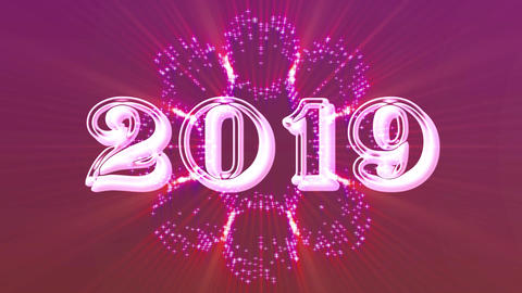 2019 with flare 10 Animation
