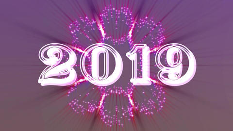 2019 with flare 9 Animation