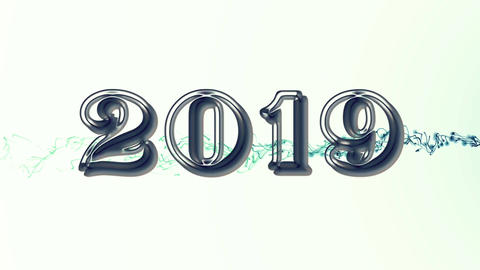 2019 with flare 4 Animation