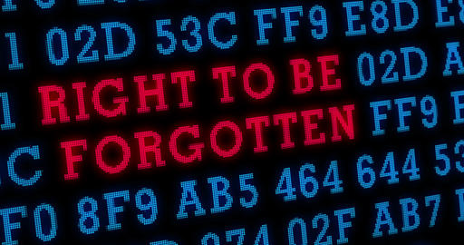 Right to be forgotten 4K Animation