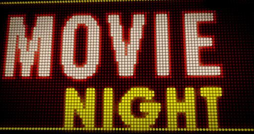 Movie Night intro v1 Animation