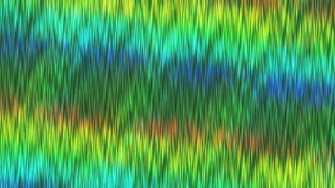 ホログラムシートのテクスチャ(ループ可能)-ヘアライン/等速/グリーン CG動画