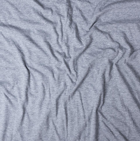 gray motley stretch-wrinkled fabric Photo
