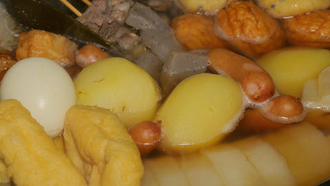 Japanese fish cake stew - Oden Live Action