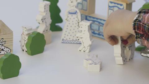 Child play board game ビデオ
