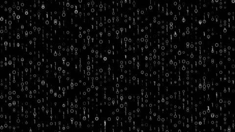 Digi0100 - Detailed Dark Digital Video Background Loop Animation