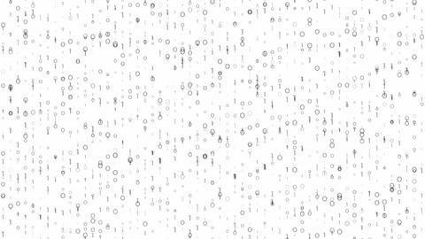 Digi0101 - 4k Detailed Bright Digital Video Background Loop Animation