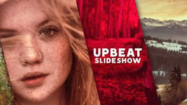 Upbeat Slideshow 애프터 이펙트 템플릿