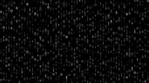 Digi0100 - 4k Detailed Dark Digital Video Background Loop Animation