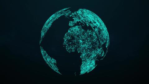 Plexus Globe Rotating Loop CG動画
