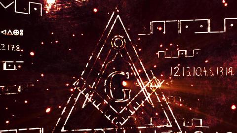 4K The Free Masonic Grand Lodge Sign v1 3 Animation