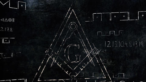 4K The Free Masonic Grand Lodge Sign v1 5 Animation